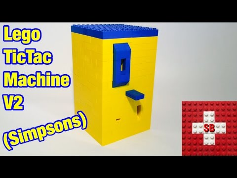 Lego TicTac Machine V2 (Simpsons)