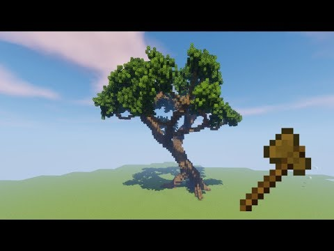 How to Build a Tree with Worldedit!