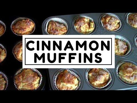 Cinnamon Muffins ~ DIY FREEZER BREAKFAST
