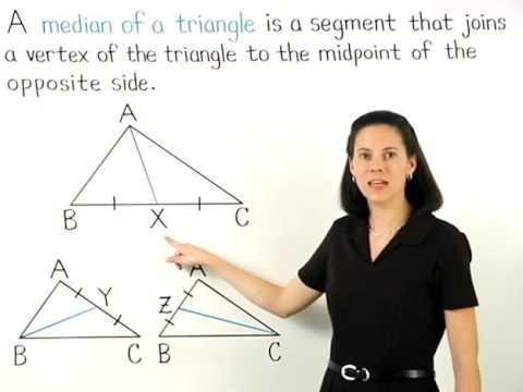 Median of a Triangle | MathHelp.com
