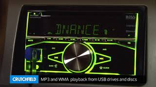 Boss 660BRGB Display and Controls Demo   Crutchfield Video