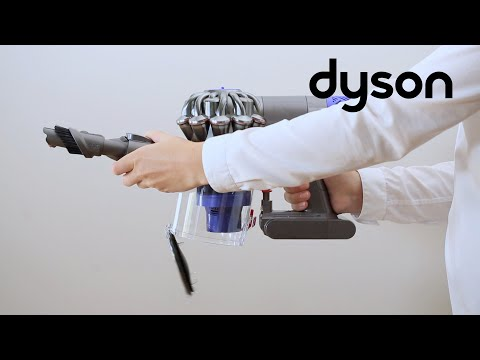 Dyson V6 cord-free vacuums - Emptying and cleaning the clear bin (US)