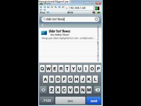 Iphone/Ipod touch- how to change slider text colour TUTORIAL
