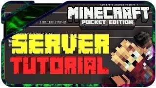 Minecraft PE Online Server Erstellen Und Spielenüber Bluetooth - Minecraft pe server erstellen kostenlos deutsch