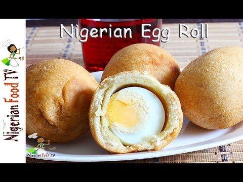 Nigerian Egg Rolls   Nigerian Snacks recipes