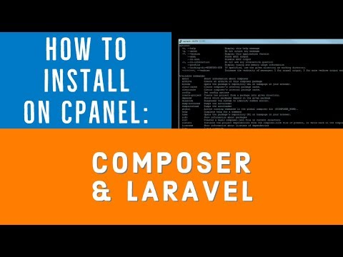 How to Install Composer and Laravel 5 in cPanel
