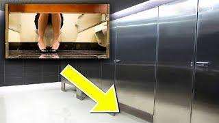 هل تعلم السر وراء قصر أبواب الحمامات العامة .. لن تصدق السبب!!