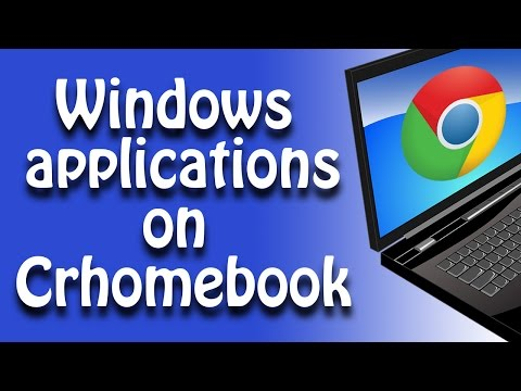 Run Windows applications on Chromebook