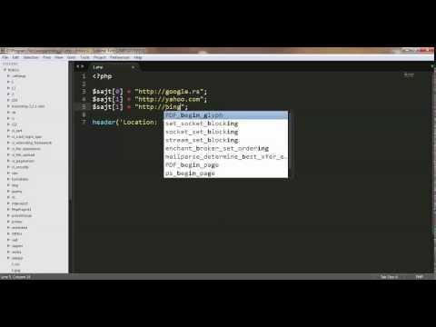 PHP - na srpskom - 31 - Redirektovanje pomoću f - je header