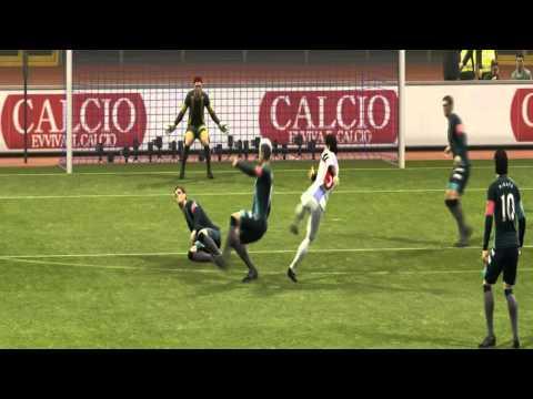 Galactik Football Mod GF PES Trailer
