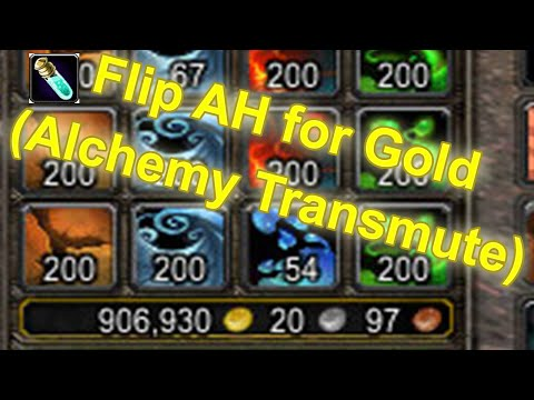 World of Warcraft - How to make Gold with Alchemy Transmute [Tutorial / Guide]   Gold Making Guide