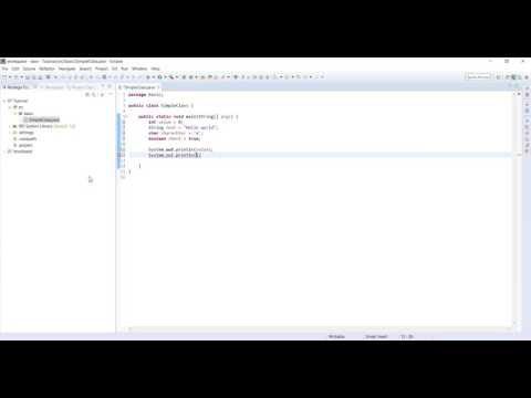 JAVA TUTORIAL 3 | HOW TO DECLARE AND INITIALIZE A VARIABLE?