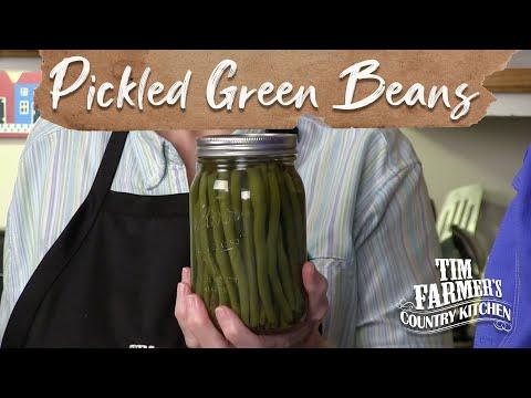 Bobby Joe's Pickled Green Beans
