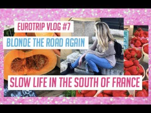 EURO TRIP VLOG: SOUTH OF FRANCE