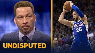 Ben Simmons should bring Game 3 energy moving forward – Chris Broussard | NBA | UNDISPUTED