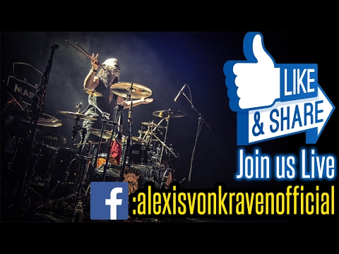 You won't believe your eyes or ears what this drummer does - Alexis Von Kraven