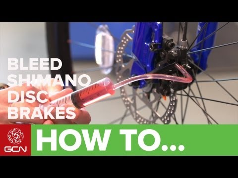 How To Bleed Shimano Hydraulic Disc Brakes