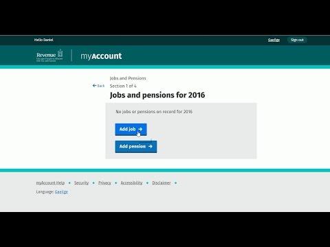 Pierwsza praca w Irlandii i rejestracja w Revenue
