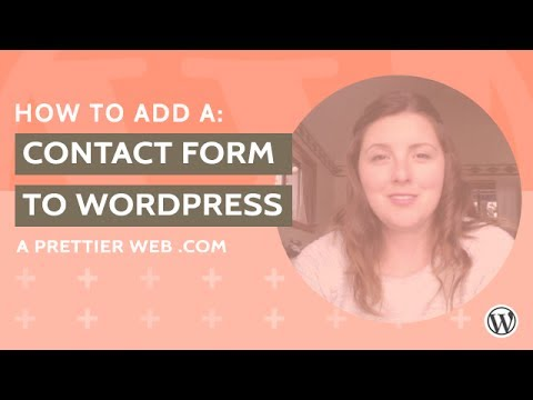 Add a Simple Contact Form to WordPress