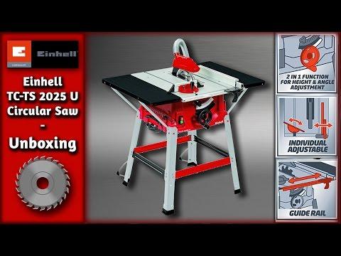 Einhell TC-TS 2025 U Circular Saw - Unboxing & Fixing