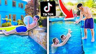 ReCreating VIRAL Tik Toks! (Pool Edition)
