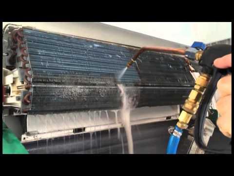 HydroKleen Air Conditioner Clean Demonstration