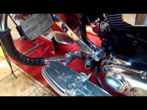 Rekluse centrifugal auto clutch , foot pedal, and Jockey Shifter. Part 1