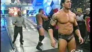 The Rock Returns To WWE Raw - 03-01-04