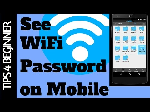 How to Find Stored WiFi Password on Android Phone Easily| WiFi Tricks |App review#4  ES Explorer