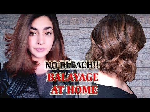 Black To Brown Hair  | NO BLEACH Balyage At Home | In Urdu/Hindi | GLOSSIPS