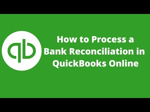 How to Process Bank Reconciliation in QuickBooks Online