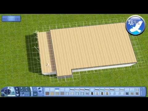 How to make a foundation on the roof - Sims3 (Works on Sims2)