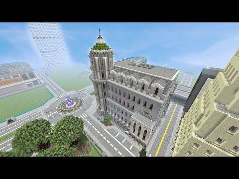 Roosevelt City Postal Service Building (Minecraft Xbox)