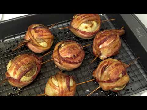 Cooking With Corporal (Stuffed Onion Bacon Bombs)
