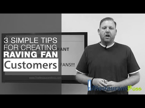 Restaurant Marketing Ideas - 3 Simple Tips for Creating Raving Fan Customers