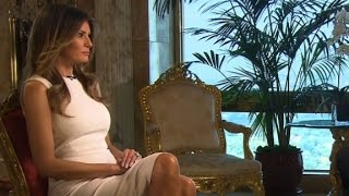 Melania Trump entire CNN interview (Part 2 with Anderson Cooper)