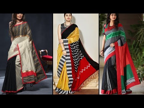 Latest Pure Raw Light Weight Silk Saree Collections With Price - She Fashion