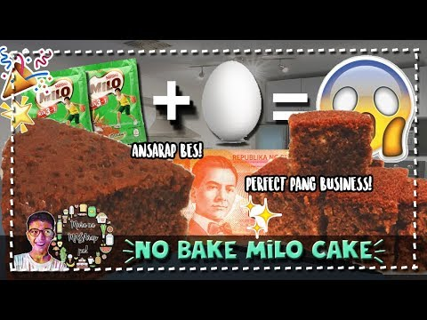 Milo Cake with a TWIST! #RiceCookerPaMore!