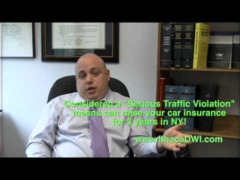 Ithaca Attorney: Why you MUST FIGHT a Cell Phone Ticket in New York!