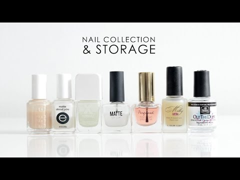 NAIL COLLECTION & STORAGE | Nailcare