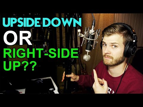 Microphones...upside down or right-side up? Does it matter?