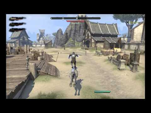 ESO Beta -  Look at my Horse, it is amazing