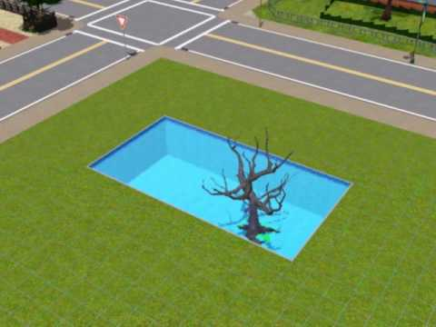 SIMS 3:HOW TO MAKE UR TREE GROW