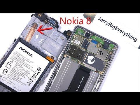 Nokia 8 Teardown - Screen Repair and Battery Replacement