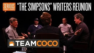 """""""The Simpsons"""" Writers Reunion -- Serious Jibber-Jabber with Conan O"""