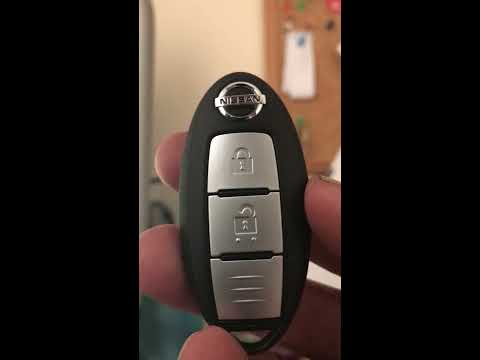 How to change a battery on a 2016 Nissan Qashqai key fob