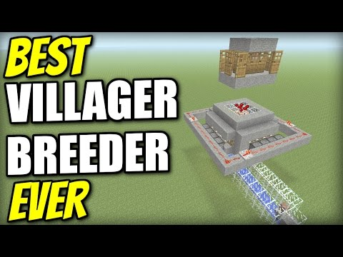 Minecraft PS4 - AUTOMATIC VILLAGER FARM [ BEST EVER ] Redstone Tutorial - MCPE / Xbox / PS3 / Wii U