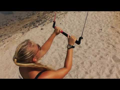 1. Basic Kiteboarding Skills - Trainer kite