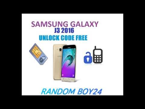 Samsung Galaxy J3, Unlock, SM J320F 2016