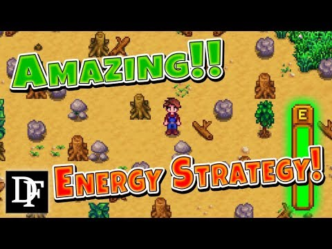 Energy Farm! TONS Of Early Game Energy! - Stardew Valley